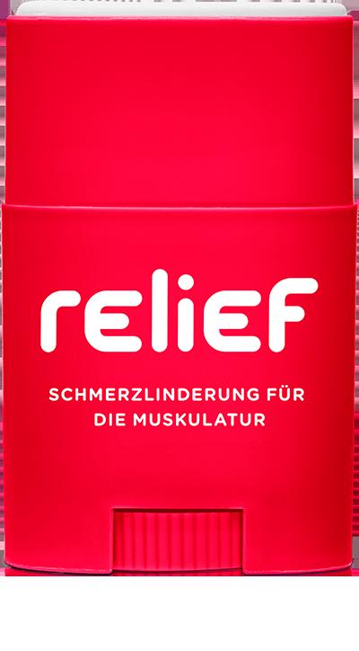 Relief schmerzlindernd