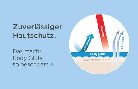 Body Glide - Zuverlässiger Hautschutz